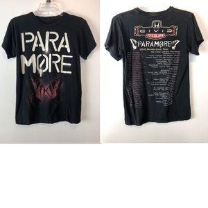 Tops - Paramore 2010 Honda Civic Tour Butterfly Shirt S